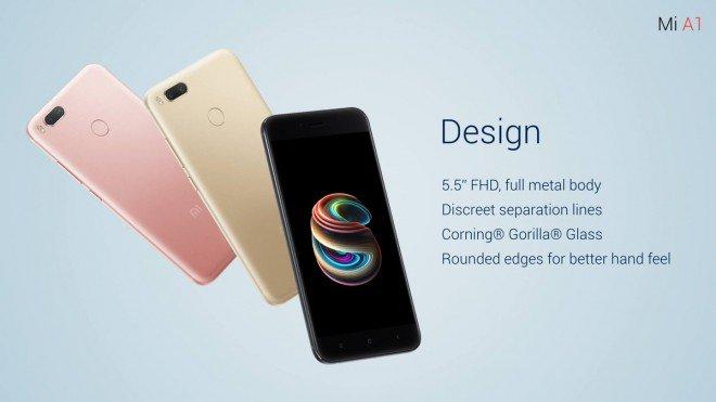 Xiaomi Mi A1: prezzo, scheda tecnica e uscita