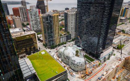 Alla scoperta del nuovo quartier generale di Amazon, una sede una città