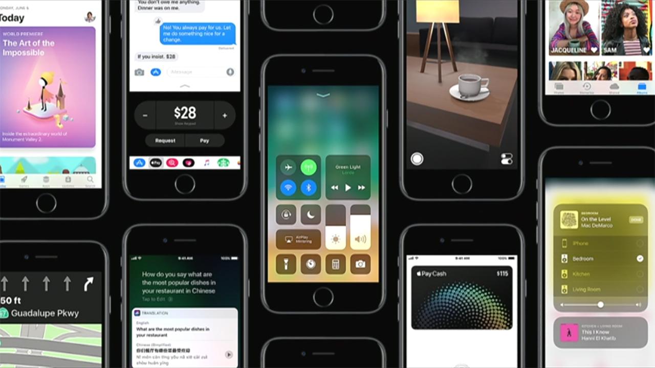 iOS 11 Centro di Controllo