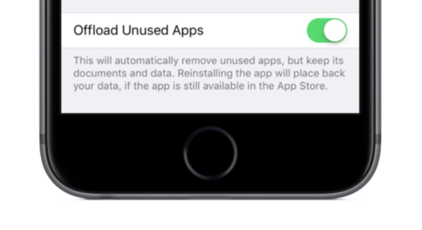 iOS 11 app non utilizzate