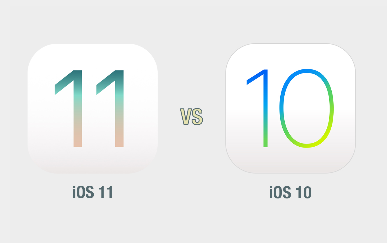 iOS 11 vs iOS 10: il confronto