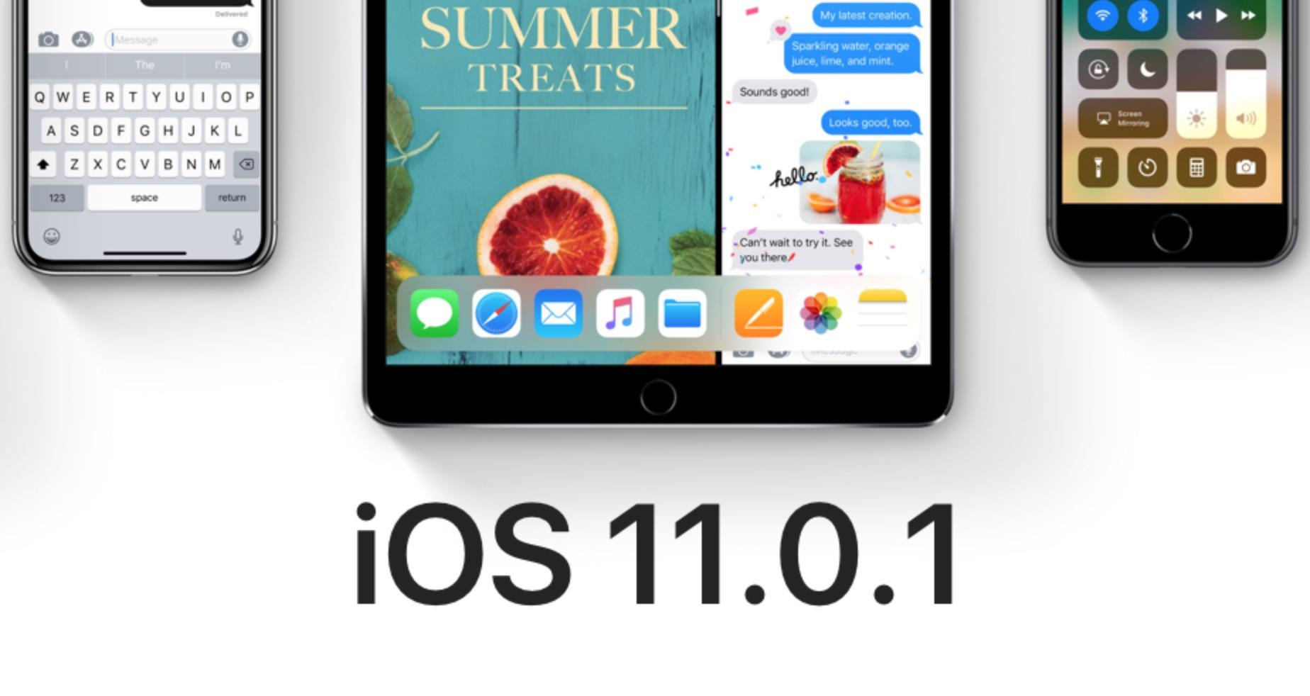iOS 11.0.1: le novità dell'aggiornamento