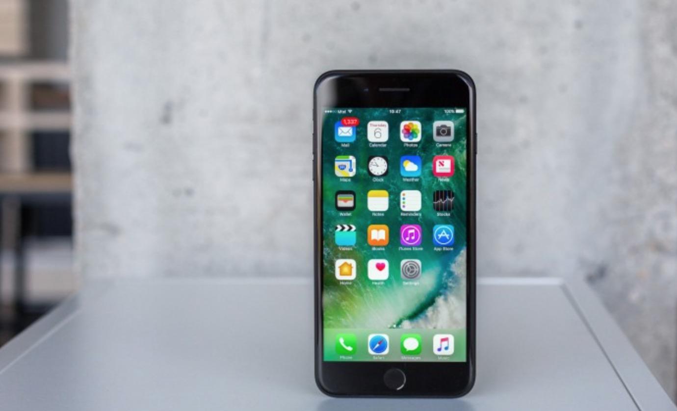 iPhone 7 Plus schermo
