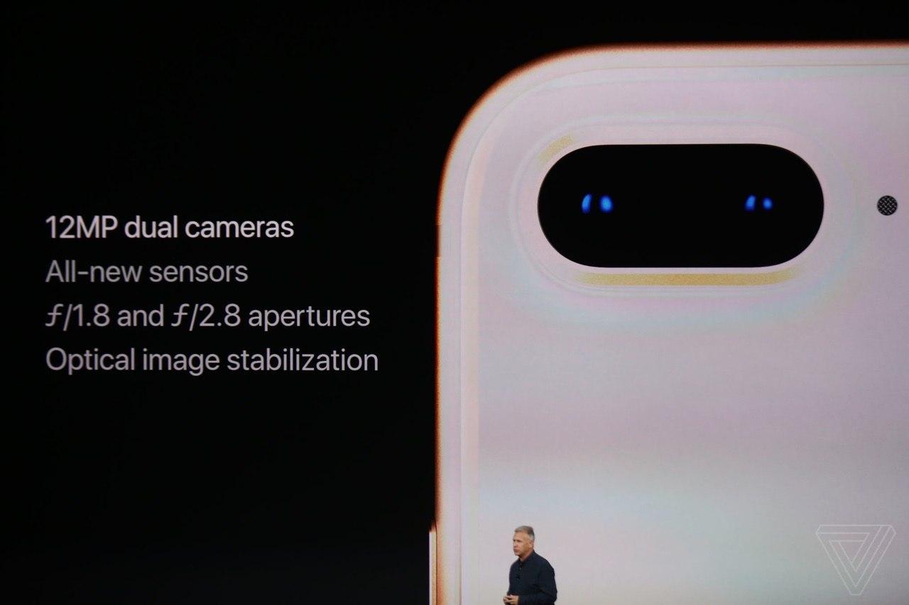 iPhone 8 Plus fotocamera