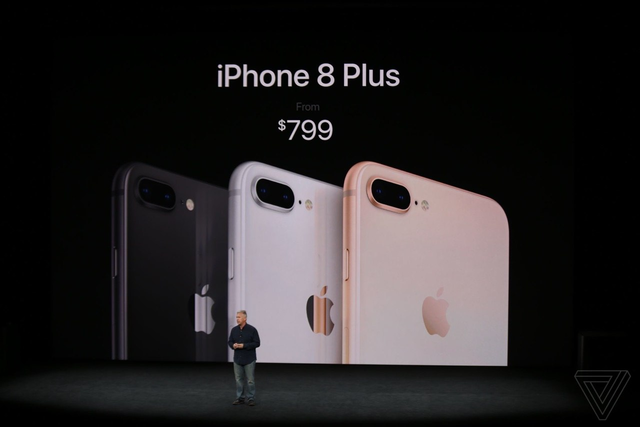 iPhone 8 Plus prezzo ufficiale