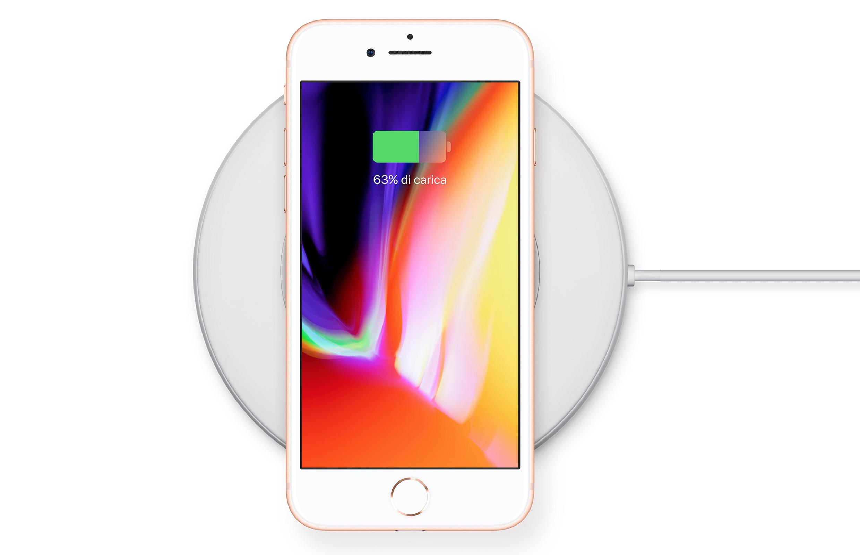 iPhone 8 Plus ricarica rapida