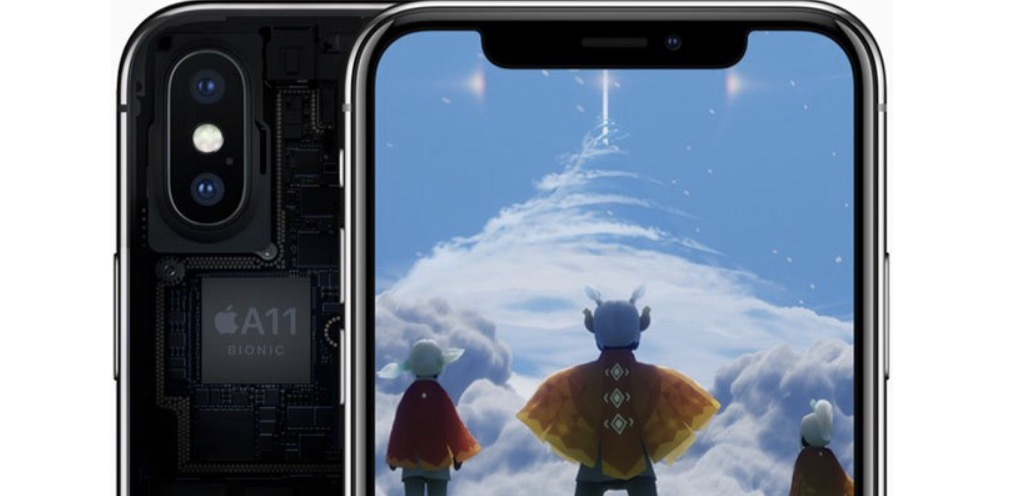 iPhone X A11 Bionic processore