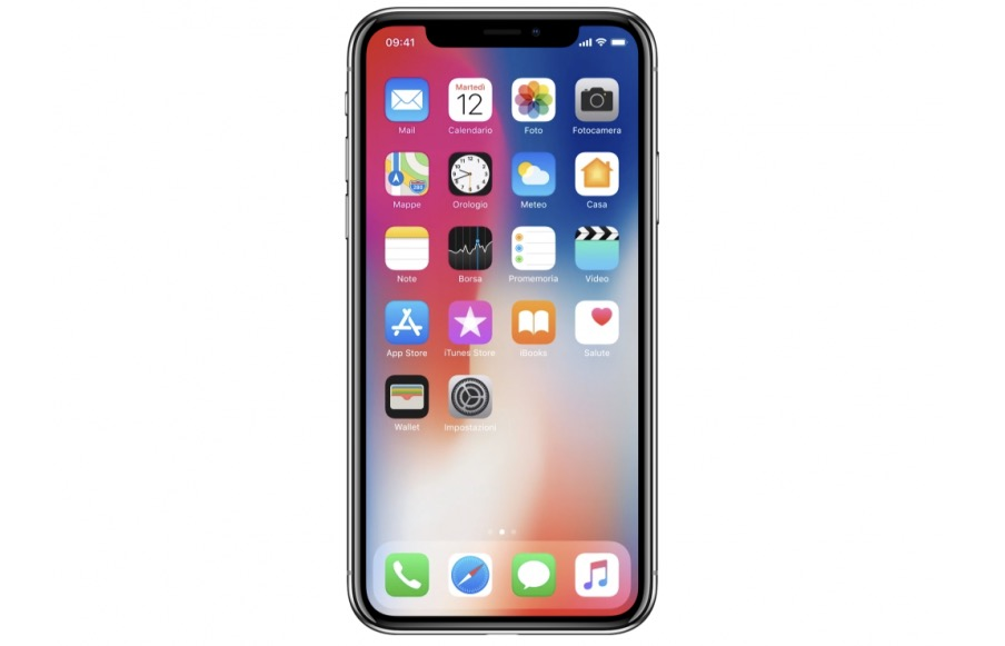 iPhone X display OLED