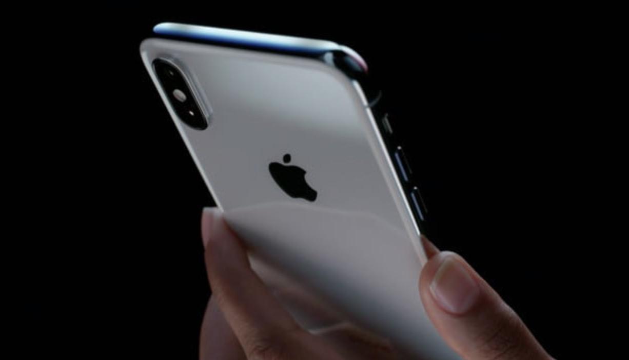 iPhone X doppia fotocamera posteriore