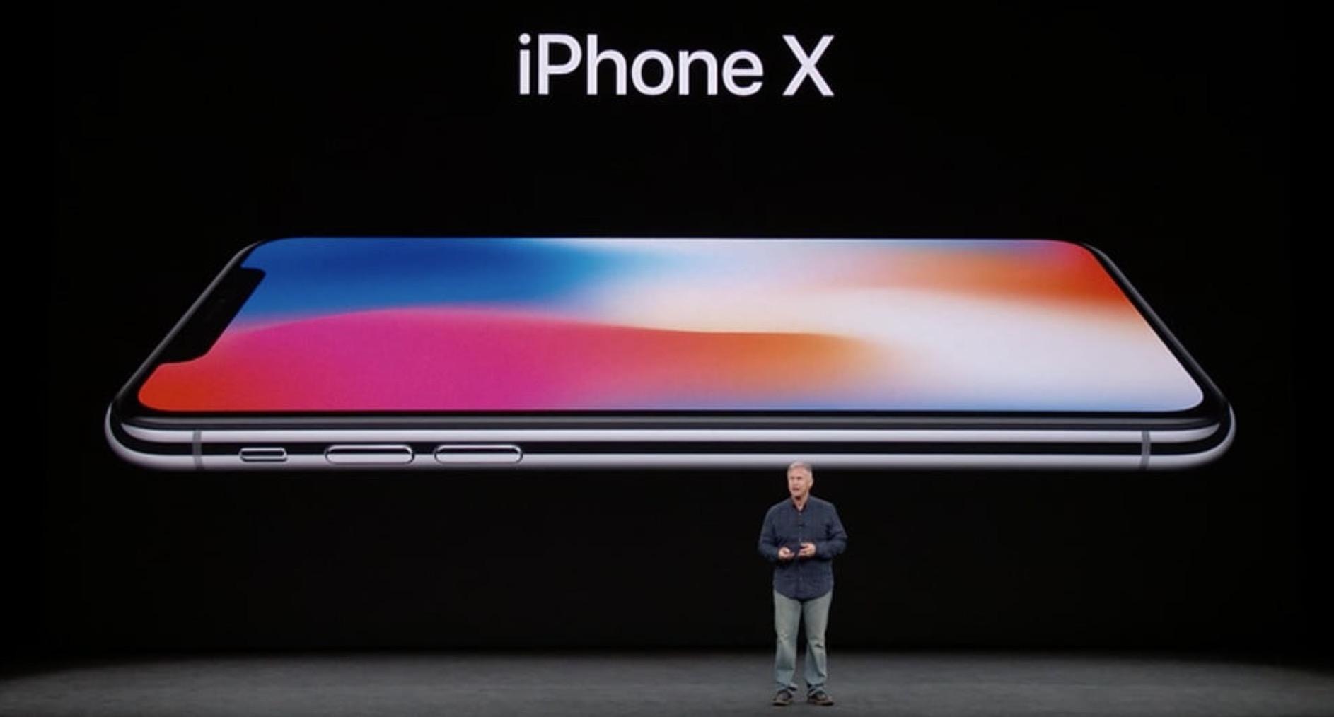 iPhone X schermo OLED