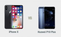iPhone X vs Huawei P10 Plus: il confronto