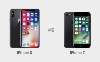iPhone X vs iPhone 7: il confronto