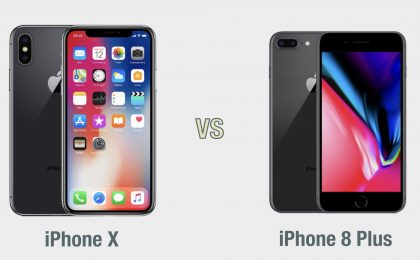 iPhone X vs iPhone 8 Plus: il confronto