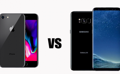 iPhone 8 vs Samsung Galaxy S8: il confronto