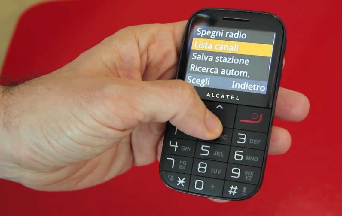 07 ALCATEL OT 2000 BLACK