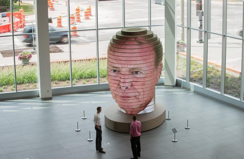 Dimensioni scultura 3d