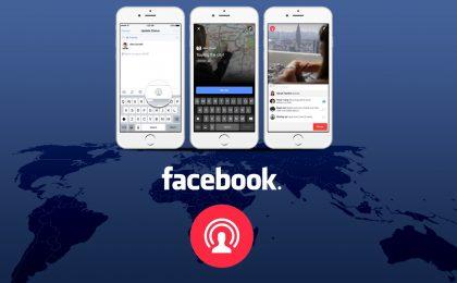 Diretta Facebook: come fare video e audio in streaming