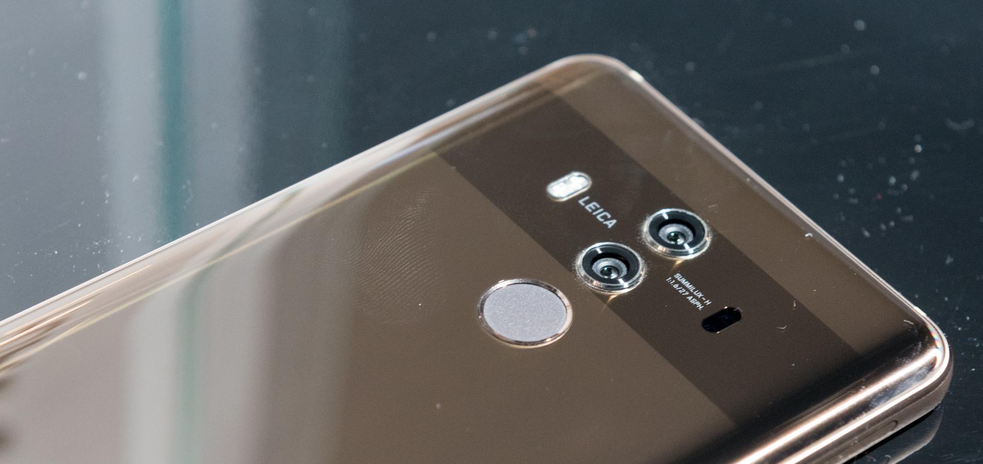 Doppia fotocamera posteriore Huawei Mate 10 Pro