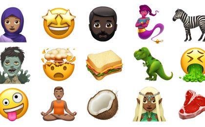 Nuove emoji Apple: con iOS 11.1 tanti simboli in arrivo