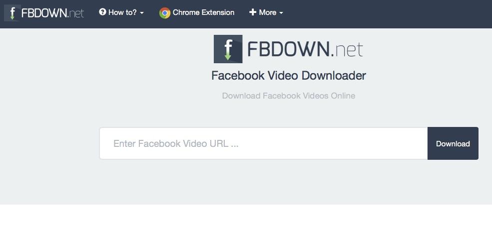Facebook Video Downloader per scaricare filmati senza programmi