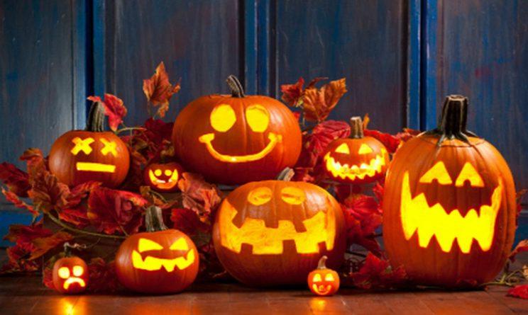 Felice Halloween zucche varie