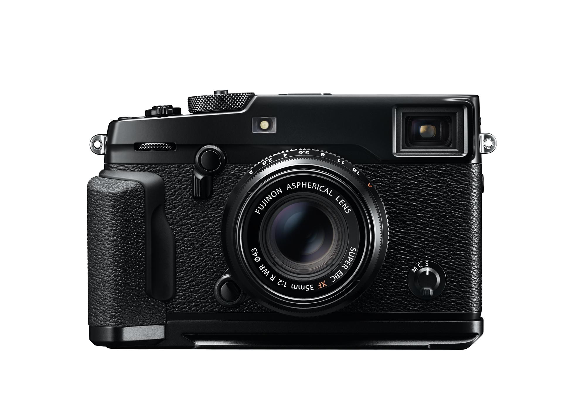 FujiFilm X Pro2 nera fronte