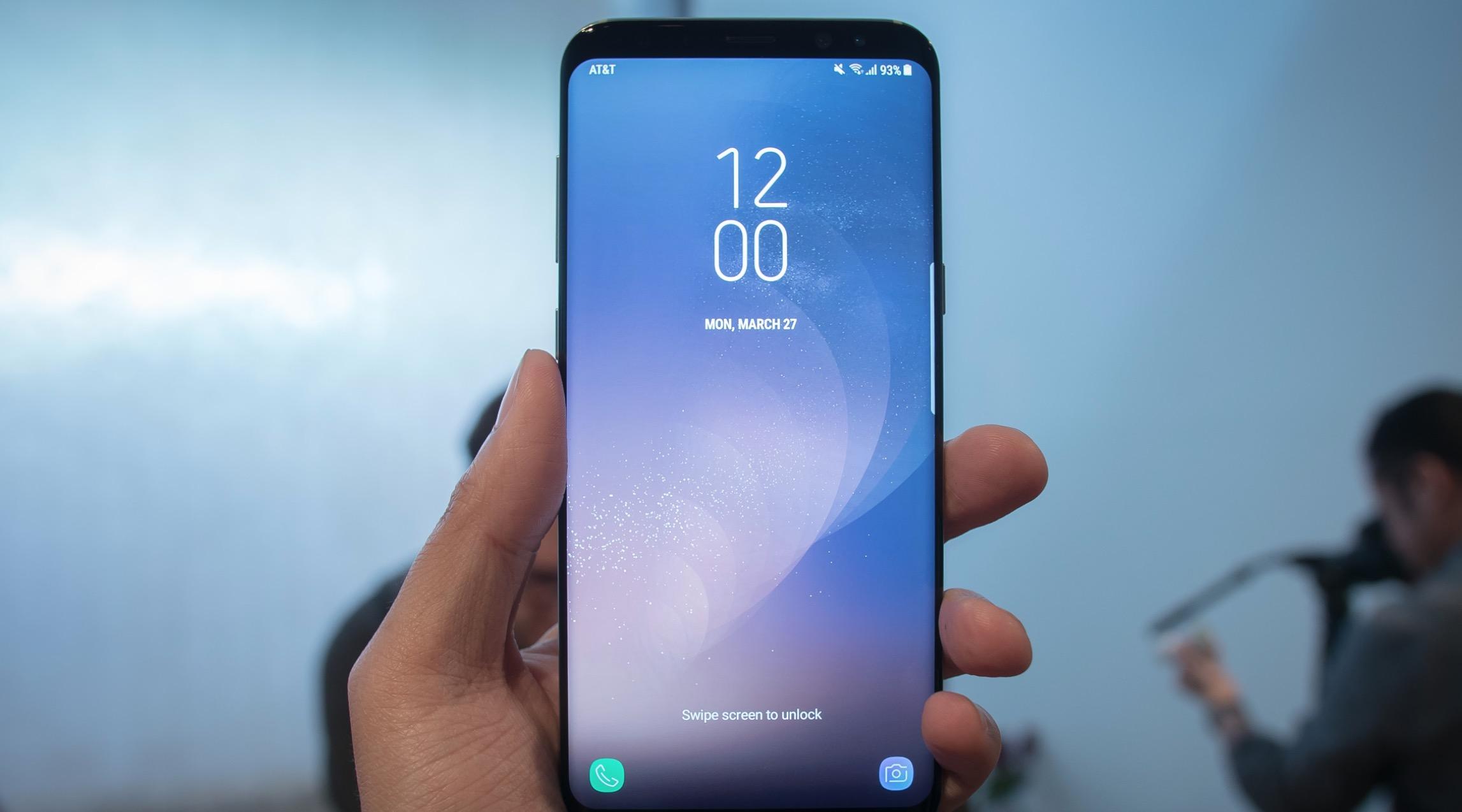 Galaxy S8 Plus processore Samsung