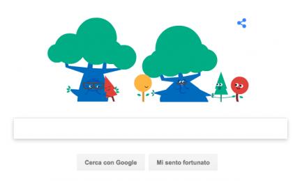 Google Doodle per la Festa dei Nonni 2017