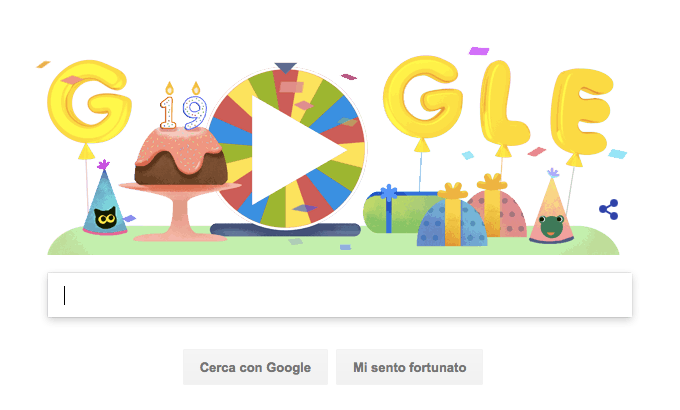 Google Doodle ruota fortuna