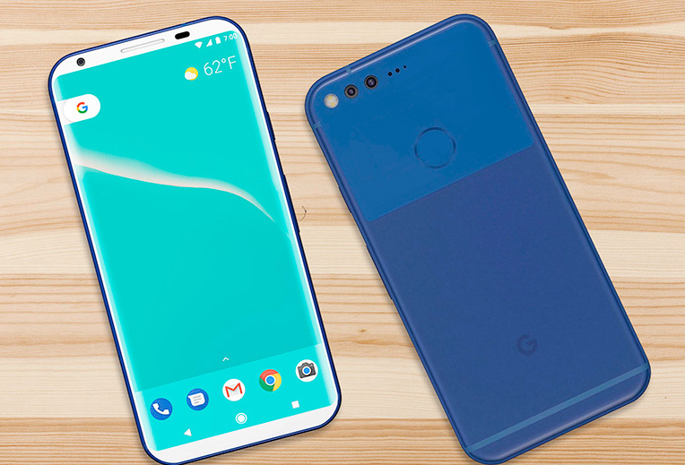 Google Pixel 2 estetica