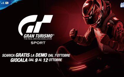 Gran Turismo Sport: demo a tempo limitato dal 9 al 12 ottobre