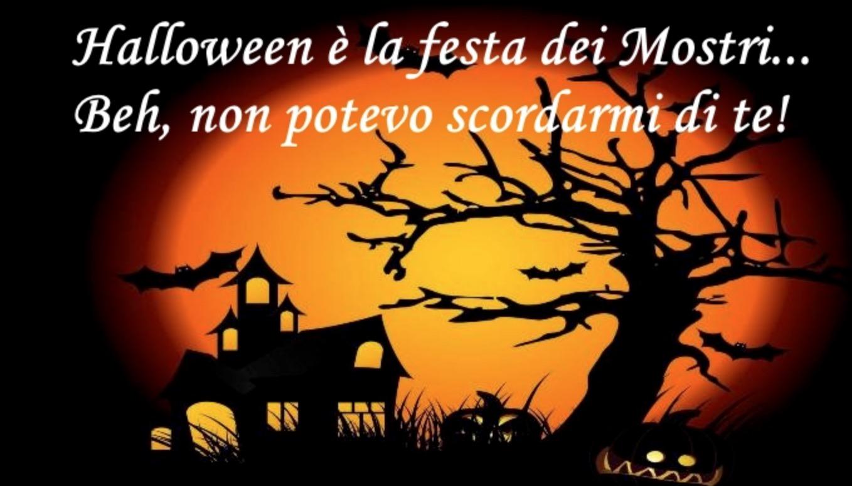Halloween festa dei mostri