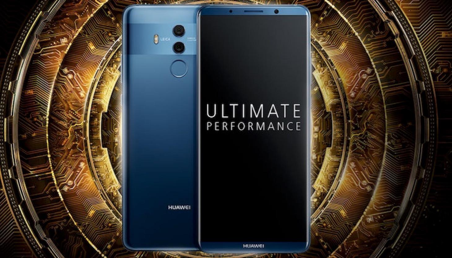 Huawei Mate 10 Pro design innovativo