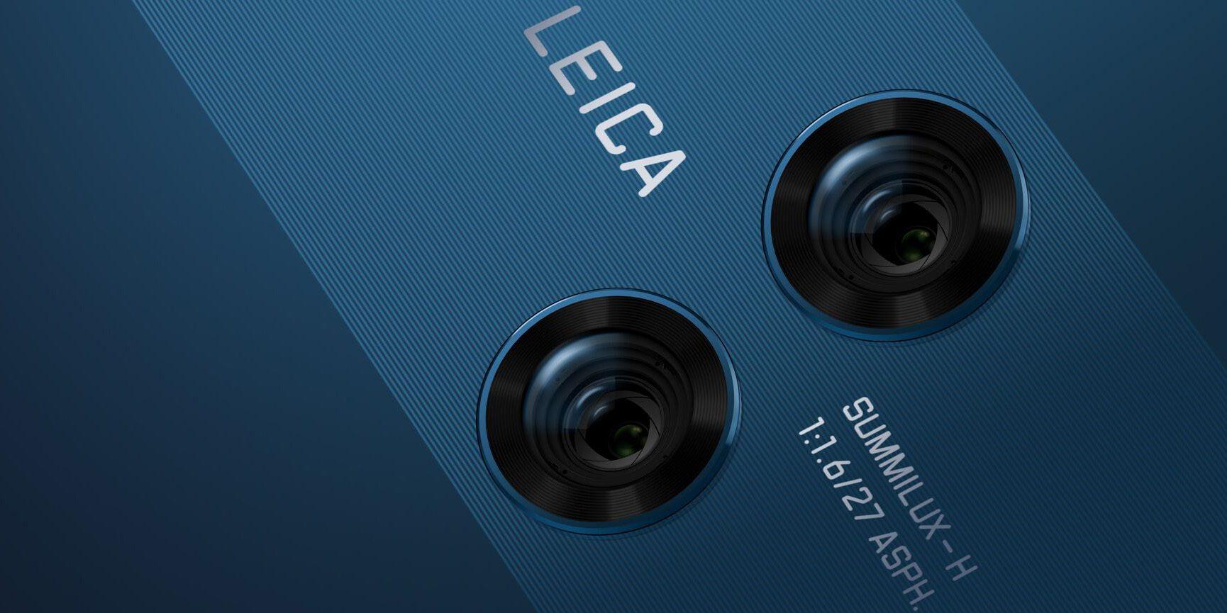 Huawei Mate 10 Pro fotocamere posteriori LEICA