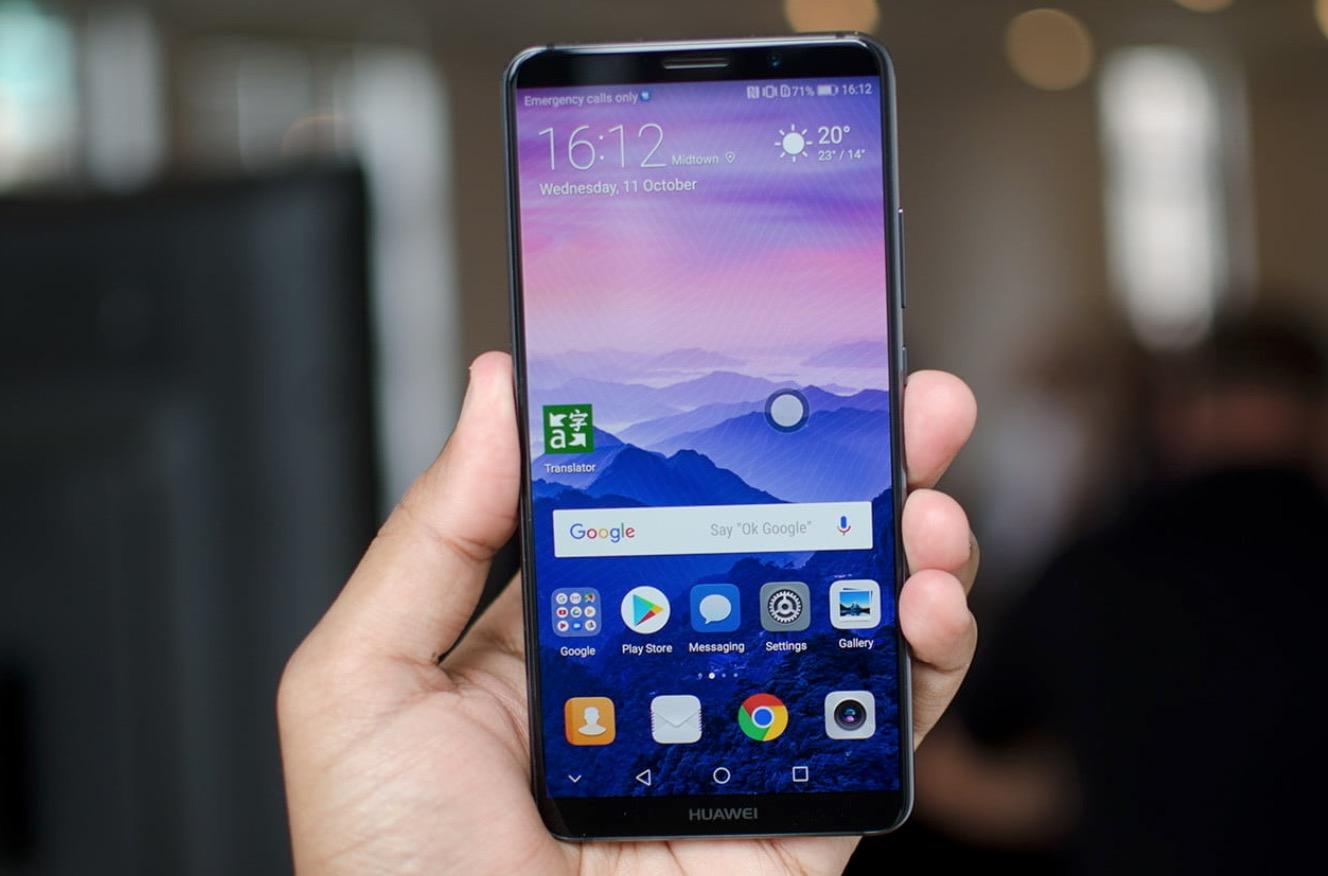 Huawei Mate 10 Pro schermo OLED senza cornici