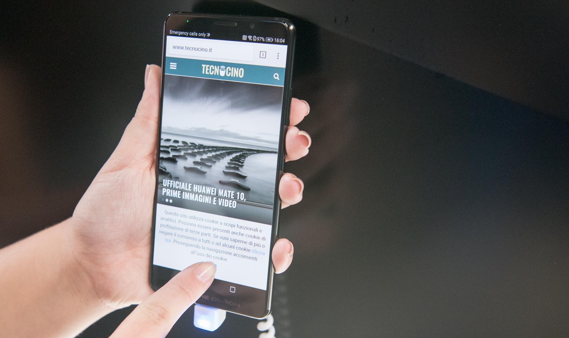 Huawei Mate 10 Pro schermo