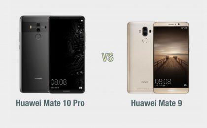 Huawei Mate 10 Pro vs Huawei Mate 9: il confronto