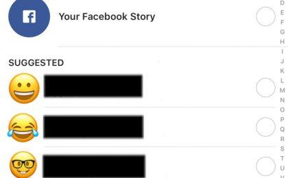 Instagram Stories su Facebook: ora possibile condividerle