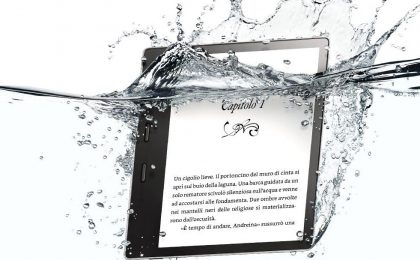 Kindle Oasis: in arrivo l'e-reader resistente all'acqua