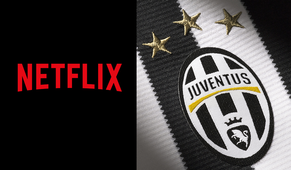 Netflix realizzerà un documentario sulla Juventus