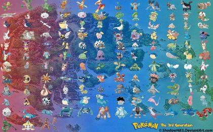 Pokemon Go: i più forti di terza generazione