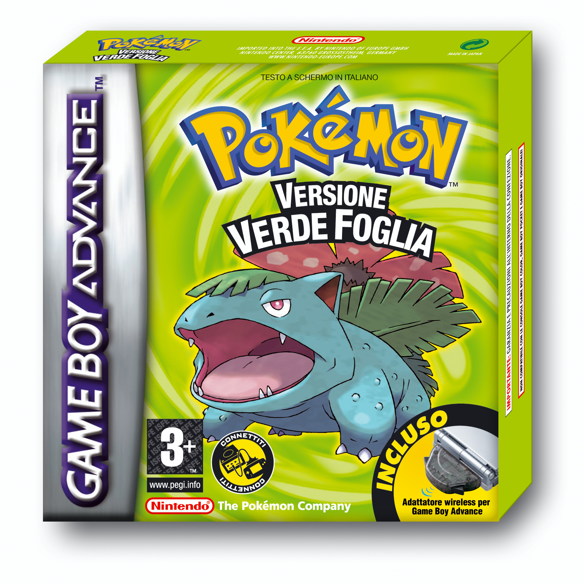 Pokémon Verde Foglia
