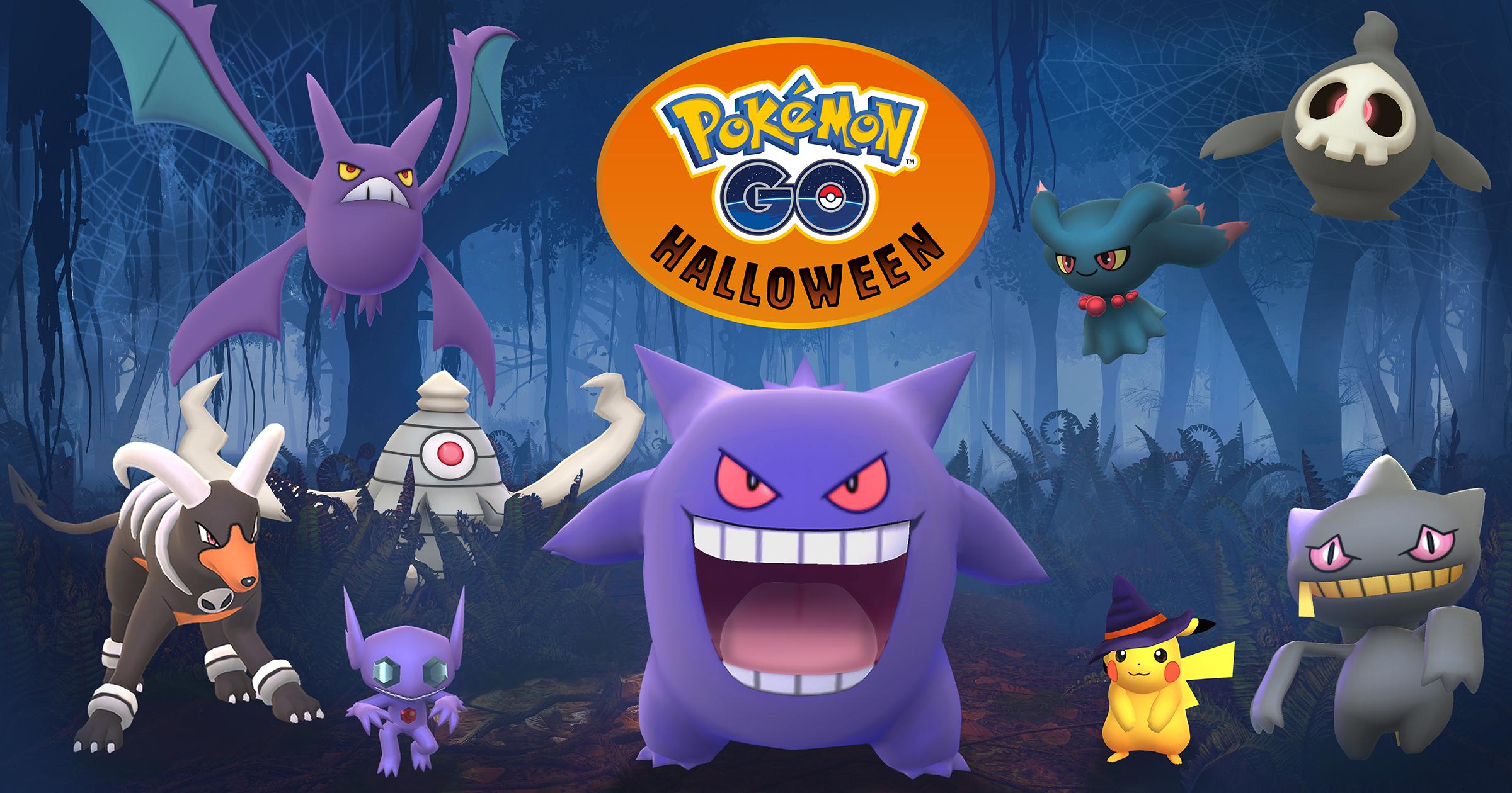 Pokemon Go, terza generazione con l'evento Halloween 2017, ufficiale