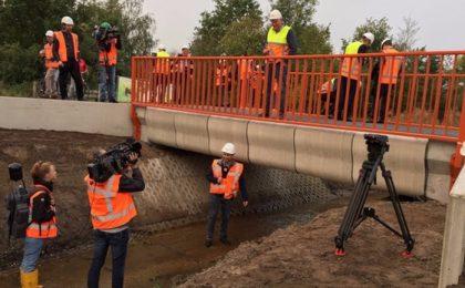Ponte in cemento stampato in 3D in Olanda