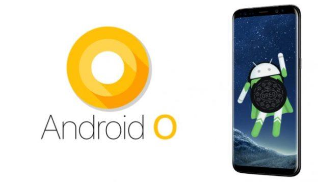 Samsung Galaxy S8 in aggiornamento Android 8 Oreo