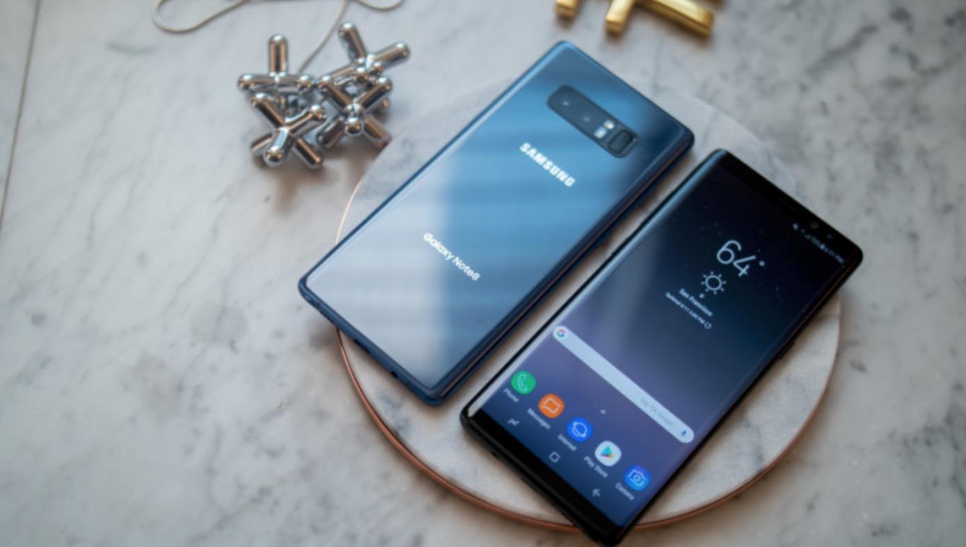 Samsung Galaxy Note 8 RAM e memoria di archiviazione
