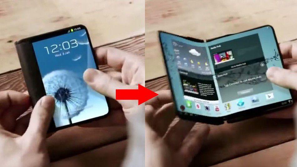 Samsung Galaxy X foldable