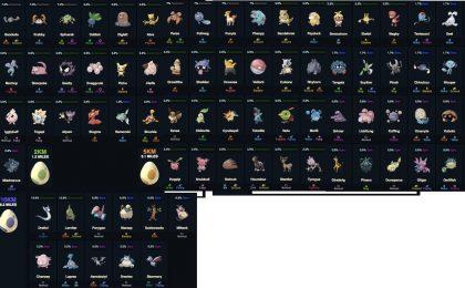 Pokemon Go, uova 2, 5 e 10 km: la lista e le rarità