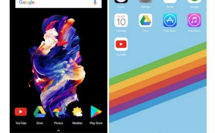 Come trasformare Android in iPhone X: le app da scaricare