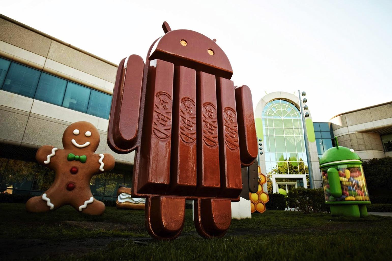 Android Kitkat di cioccolato